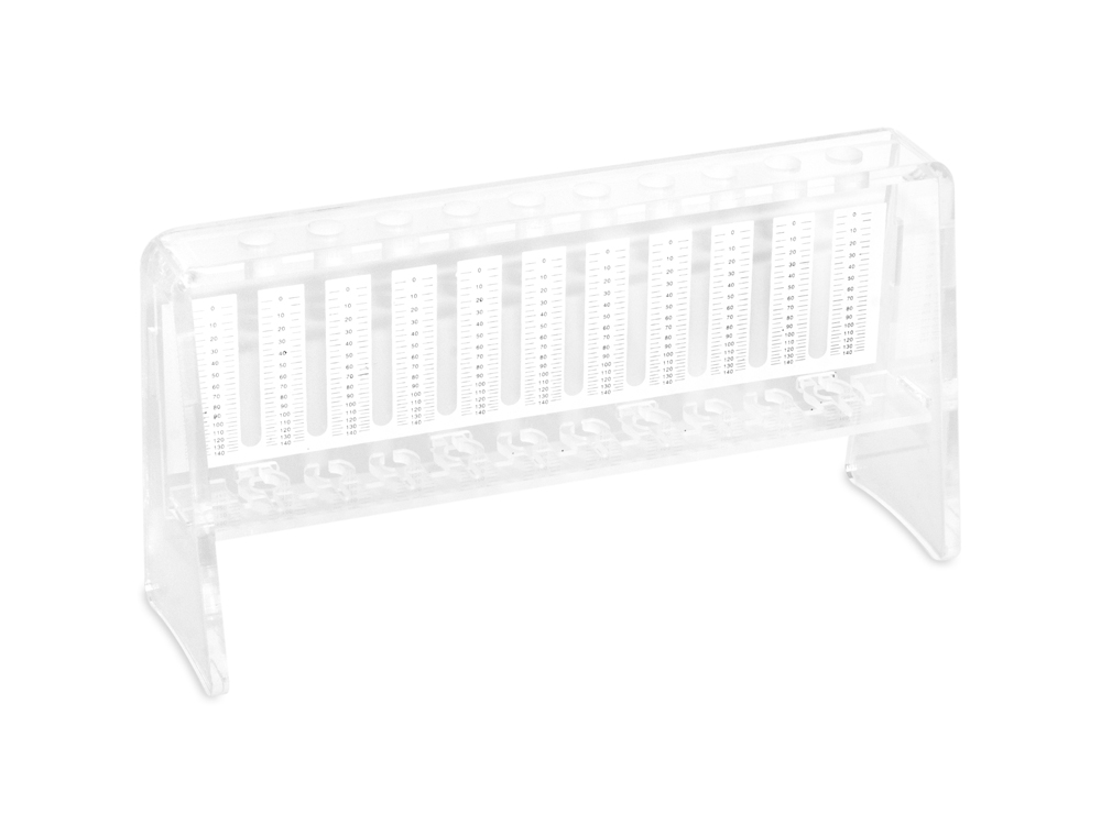 Rack for reading | ESR scale | 10 position | compatible tubes | 8x120 mm | Blood Collection | Vacuum Tubes | price | cost