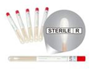 Swabs | 12x150 mm | wooden stick | cotton tip | polypropylene test tube | sterile | labeled in tub | collecting samples | laboratory disposables | price | cost