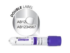 3 ml | plastic | EDTA K3 | 13x75 mm | purple cap | Hematology | Blood Collection | Vacuum Tubes | price | cost