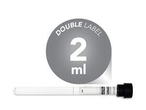 2 ml | glass | black cap | 8 x 120 mm | Vacuum Tubes | ESR | Erythrocyte Sedimentation Rate | price | cost