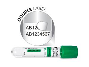 4 ml | Plastic | 13x75 mm | Green Cap | Chemistry | Immunology | Lithium heparin | Vacuum Tubes | Blood Collection | price | cost