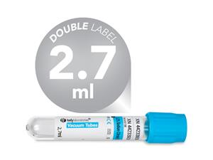 2,7 ml | plastic | 13x75 mm | blue cap | Coagulation | Sodium citrate 3,2% | Blood Collection | Vacuum Tubes | price | cost