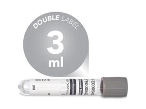 3 ml | plastic | 13x75 mm | grey cap | Glucose | Potassium oxalate | sodium Fluoride | Blood Collection | Vacuum Tubes | price | cost