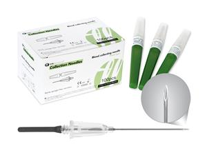 21G | Blood Collection Needles | Flashback | Visio | Laboratory Disposables | price | cost