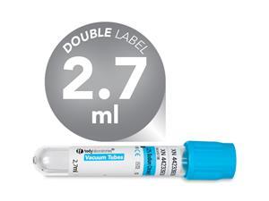2,7 ml | plastic | 13x75 mm | blue cap | Coagulation | Sodium citrate 3,2% | Blood Collection | Vacuum Tubes | price | cost